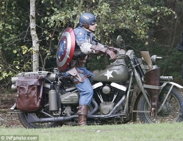 Captain America new costume