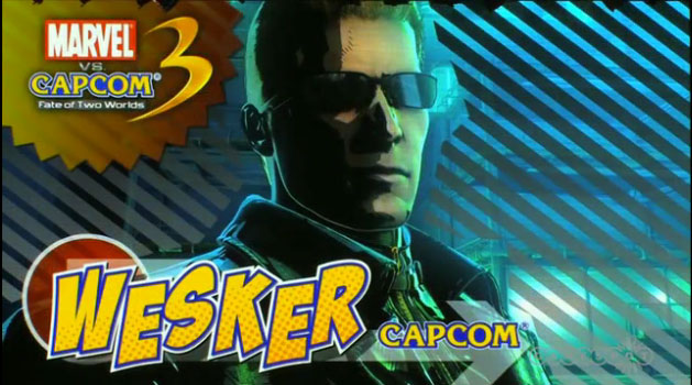 Wesker Marvel VS Capcom 3