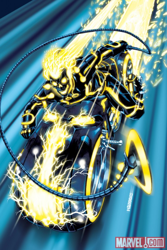 Ghost rider Tron