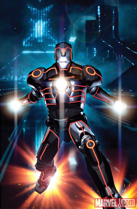 Iron man tron