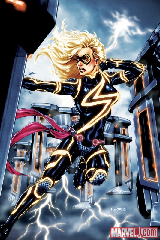 Ms Marvel Tron