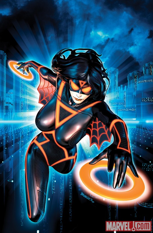 Spiderwoman Tron