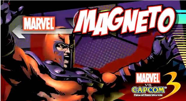 magneto marvel vs capcom 3