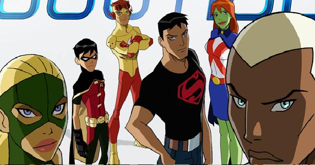 Young Justice Characters [Animated]