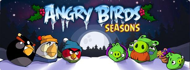 angry birds seasons - christmas