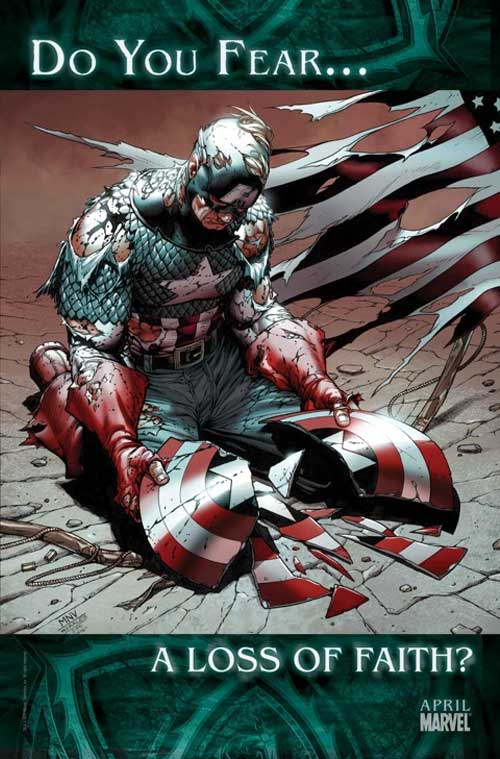 Marvel Captain America Do You Fear