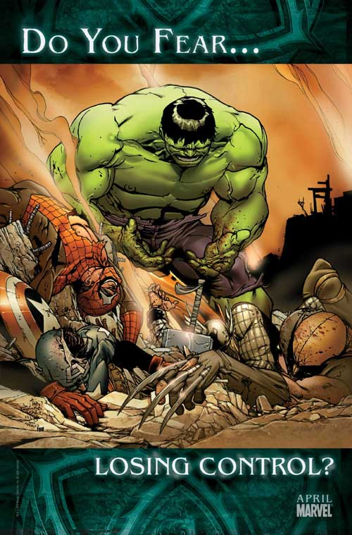 Marvel Hulk Do You Fear