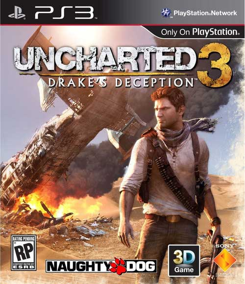 Uncharted 3 Drakes Deception box art