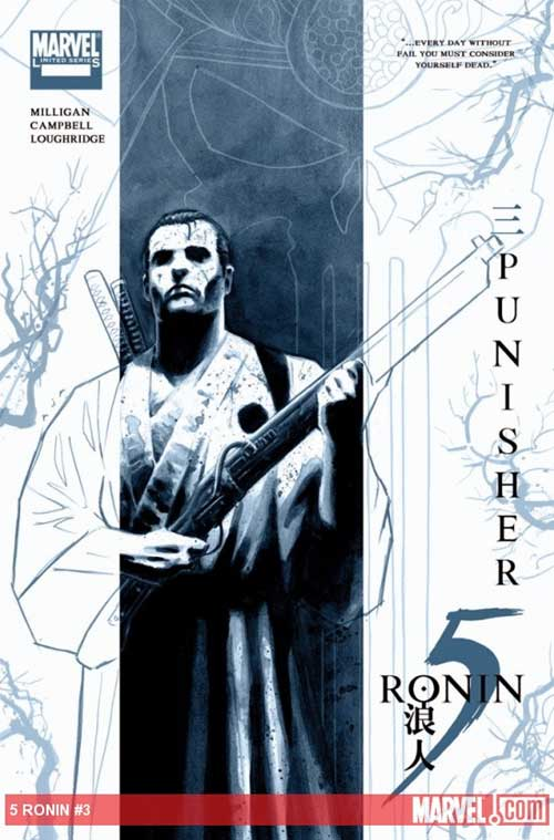 marvel punisher 5 ronin variant cover