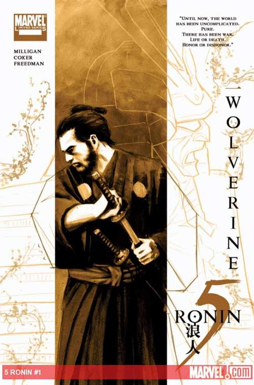 marvel wolverine 5 ronin variant