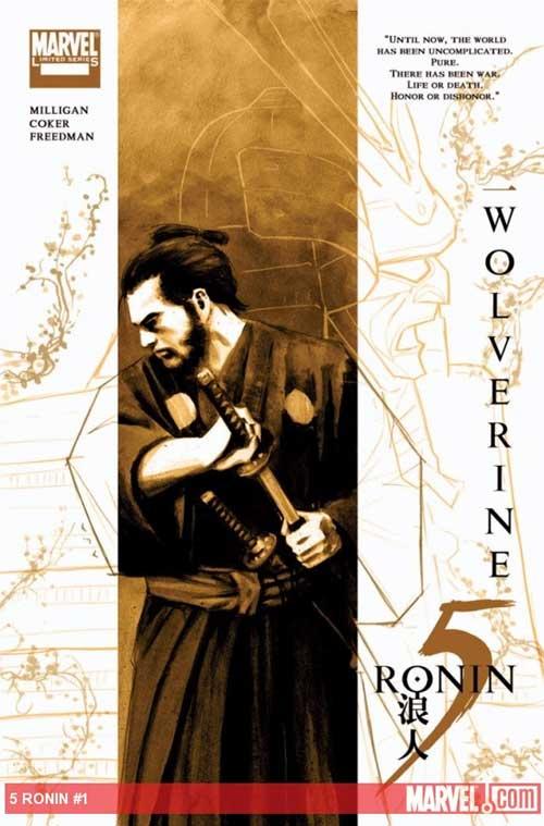 marvel wolverine 5 ronin variant