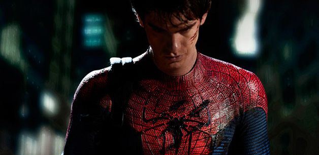 Andrew Garfield spiderman first look