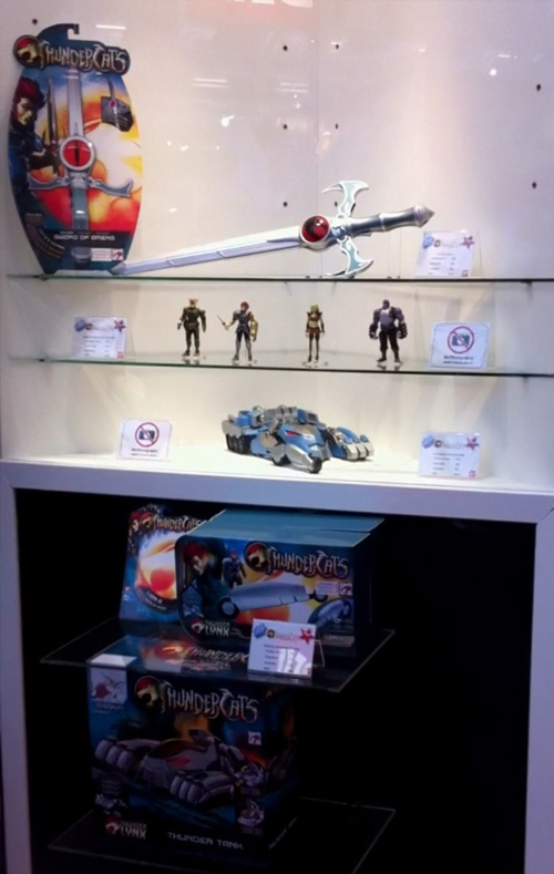new thundercats toy range