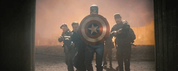 Captain America super bowl trailer