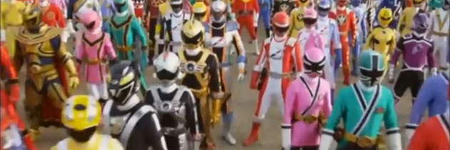 Kaizoku Sentai Gokaiger – The Great Legend War – Power Rangers