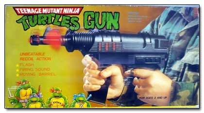 Teenage mutant ninja turtles Gun