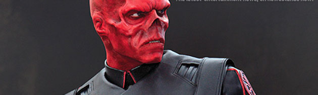 First look at The Red Skull Hugo Weaving