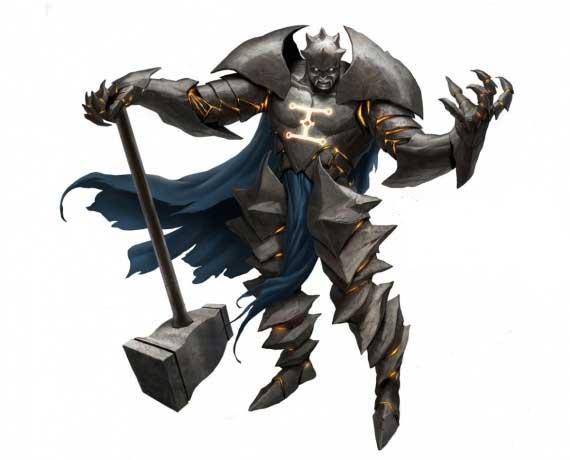 Grey Gargoyle The Worthy - Fear Itself