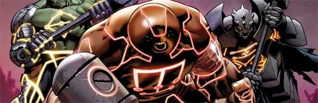 Marvel The Worthy from Fear Itself