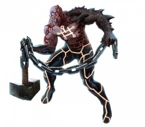 The Absorbing Man The Worthy - Fear Itself