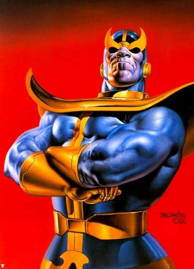 Thanos Avengers Villain