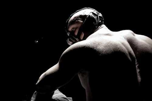 Tom Hardy as Bane Dark Knight Rises