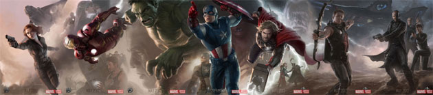 The Avengers Film First Trailer and Footage