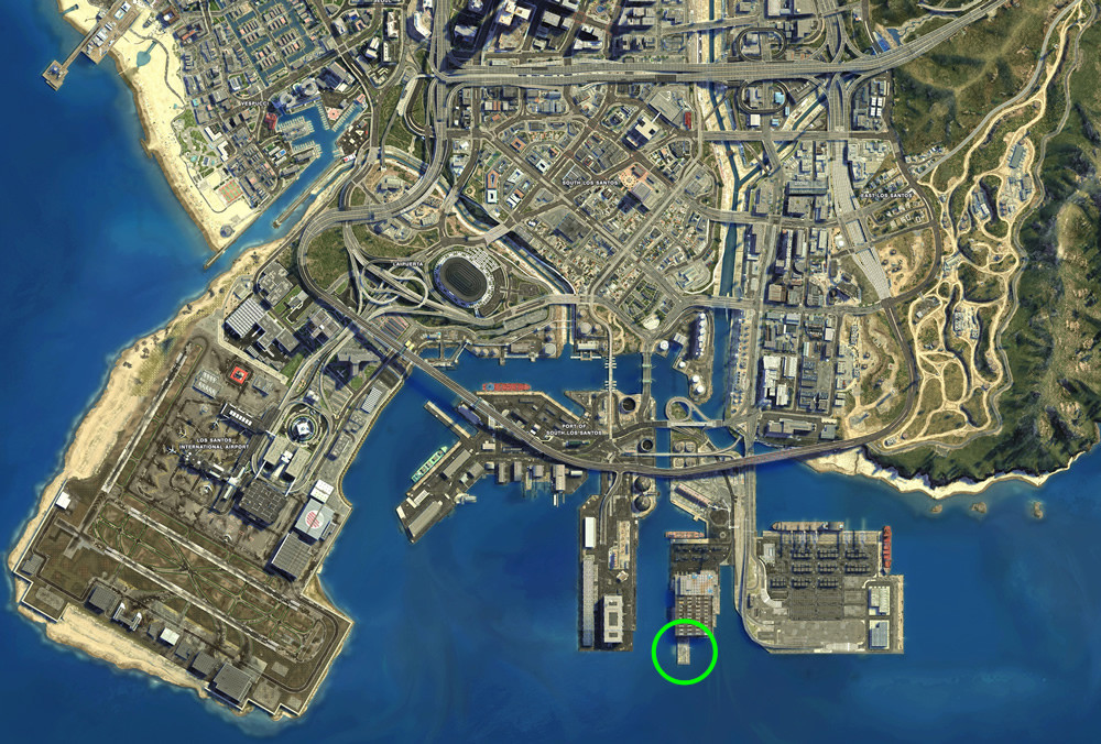 GTA 5 Cargobob Location